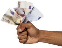 Euro's cash in het handje